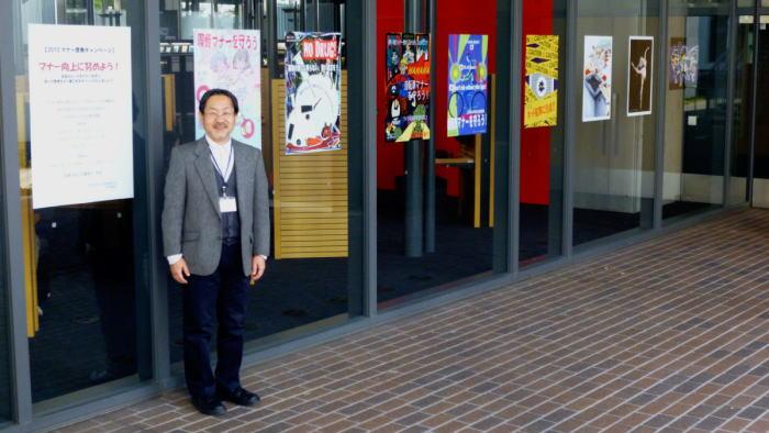 2013年度 マナー啓発キャンペーン 学生制作ポスター展示
