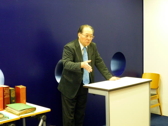 【トークライブin CELL】第9回:稲積包昭先生が語る「竹原常太と英語辞書の世界」